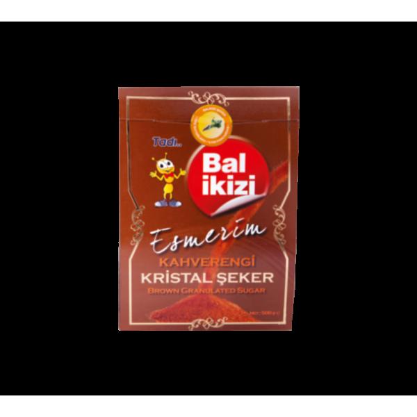 BALİKİZİ ESMERİM KAHVERENGİ ŞEKER 500 GR