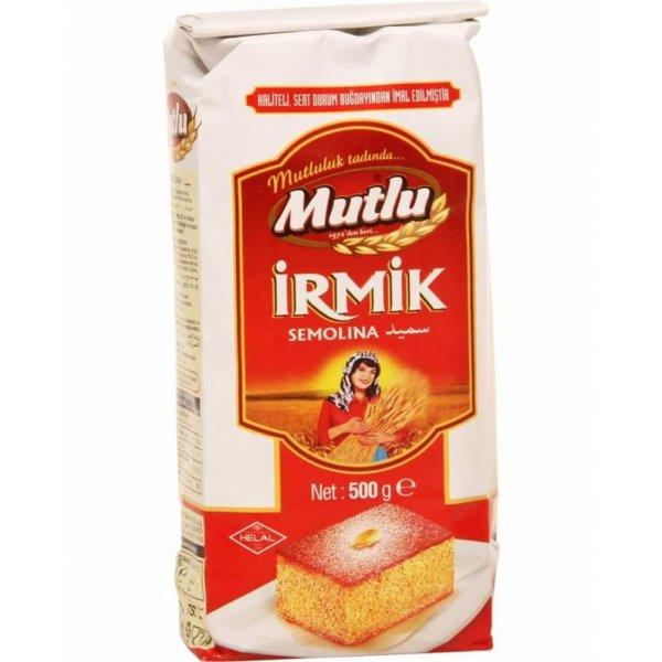 MUTLU PAKET İRMİK 500 GR