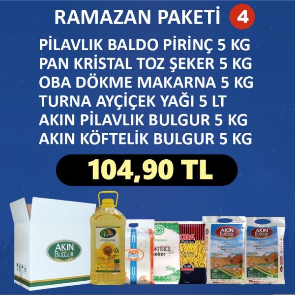 RAMAZAN ERZAK PAKETİ - 4