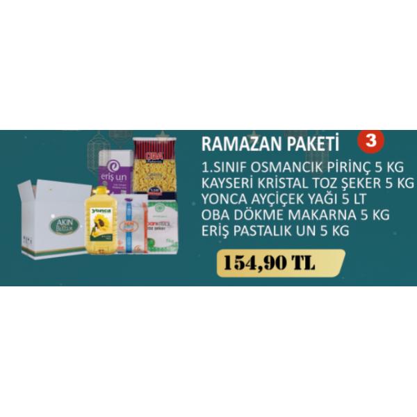 RAMAZAN ERZAK PAKETİ - 3