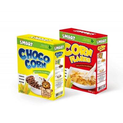 Choco Corn Kakaolu Mısır Gevreği+ Corn Flakes Mısır Gevreği