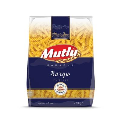 MUTLU BURGU MAKARNA PAKET 500 GR
