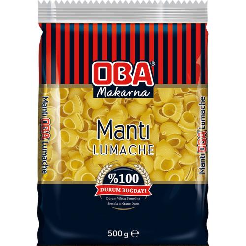 OBA MANTI MAKARNA PAKET 500 GR